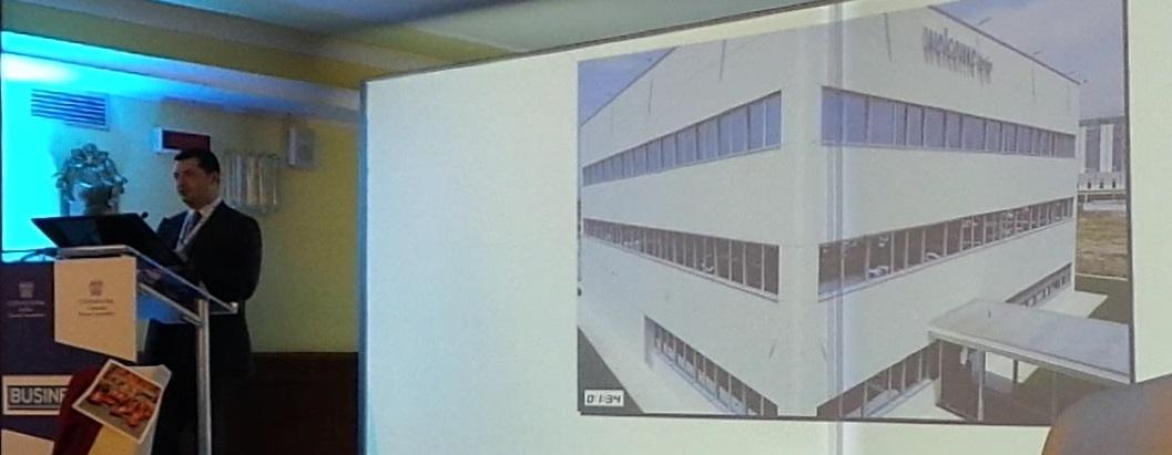 Presentazione della Enecom srl al Business Cafe' di Avellino