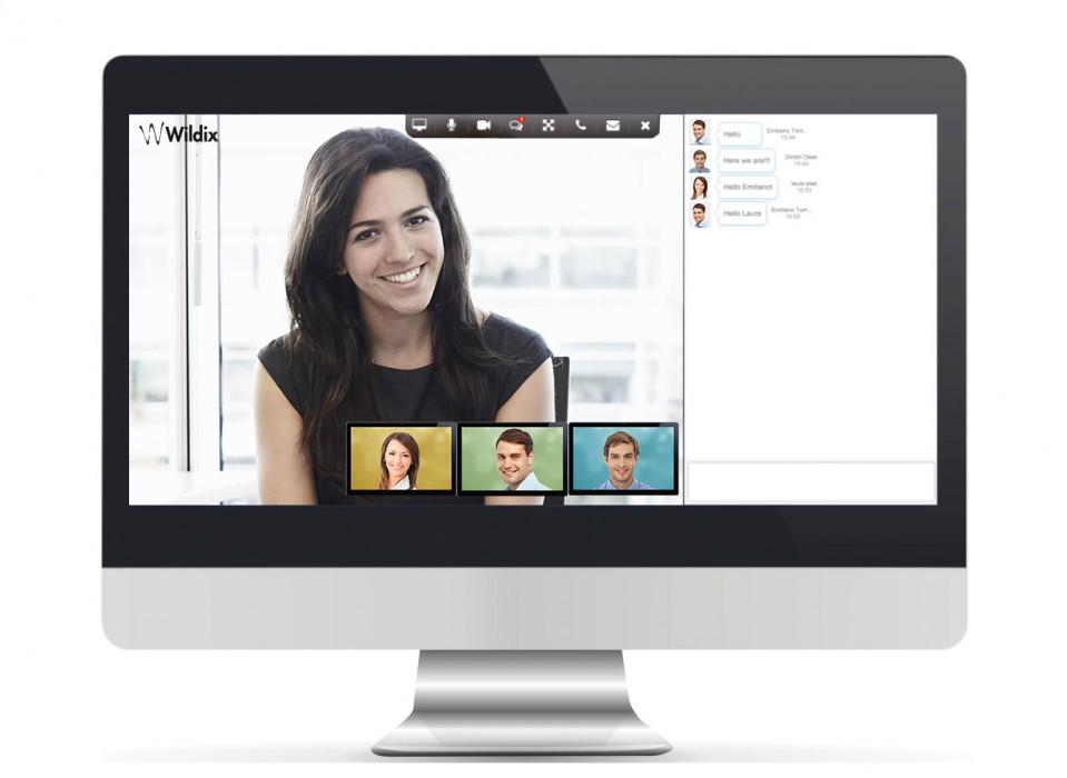 La Wildix Videoconference